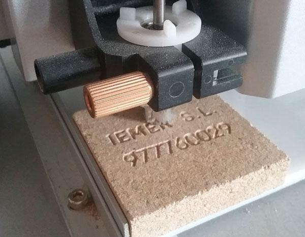 Piedra identificativa incineración