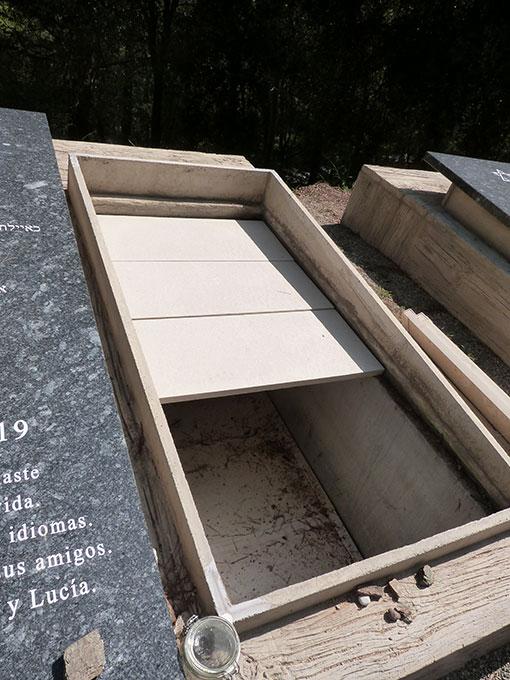losa para tumbas